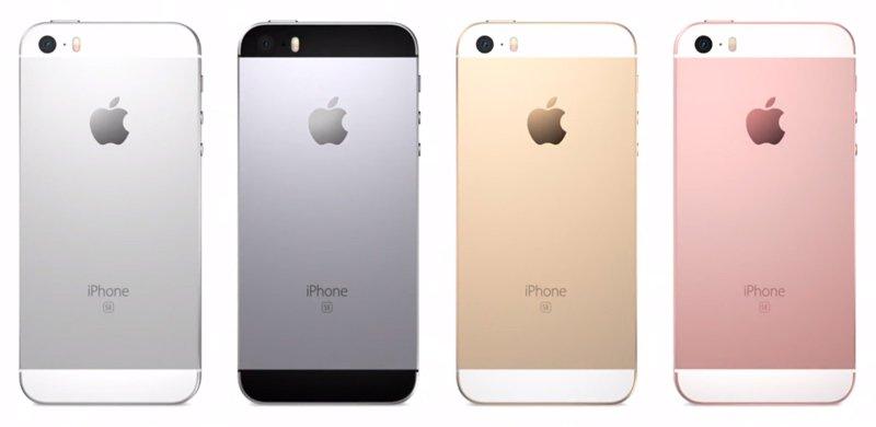 Apple iPhone SE - wersje kolorystyczne