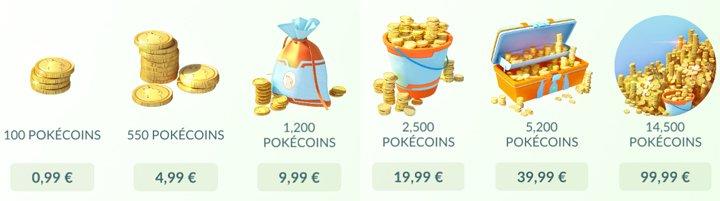 Pokemon GO - Poke Coins