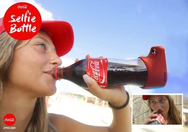 The Coca-Cola Selfie Bootle. Foto: Gefen Team