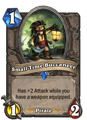 small-time bucaneer