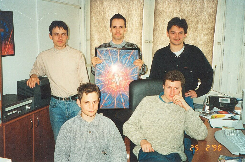 LOGO ESET NOD 1998