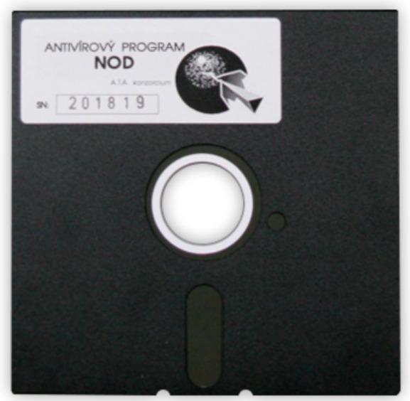 Dyskietka NOD 1987