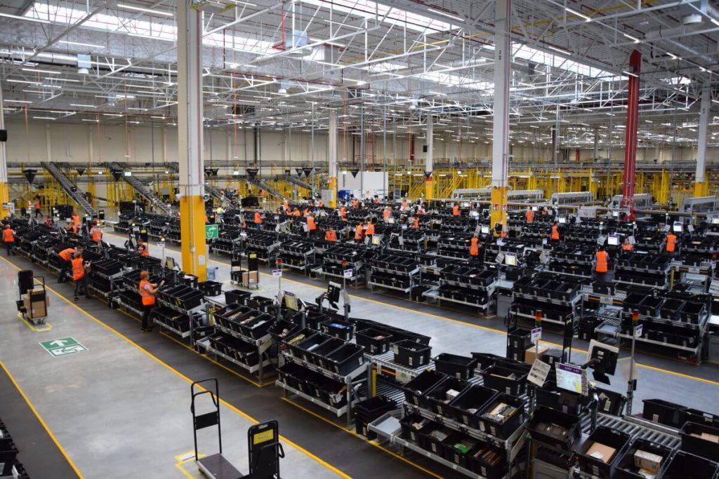 Centrum Logistyki Amazon w Okmianach